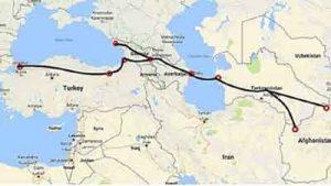 koridor 300x169 - تورکمنیستان- آذربایجان و اووغانیستان ینگ جمهورباشلیقلاری دوشوشیق گچیردی