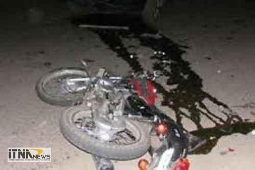 motorsavar 22m - مرگ موتورسوار در تصادف رانندگی جاده مرزی گنبدکاووس - اینچهبرون+عکس