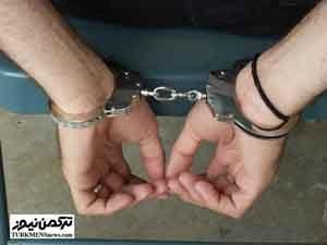 mozahem 11az 300x225 - مزاحم خیابانی دردسرساز در شهرستان بندرترکمن دستگیر شد