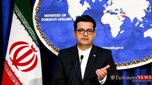musavi 300x169 - Musawi: Amerikaly resmileriň Eýranyň içeri işlerine gatyşmagy hoşniýetlilik ýüzünden däldir