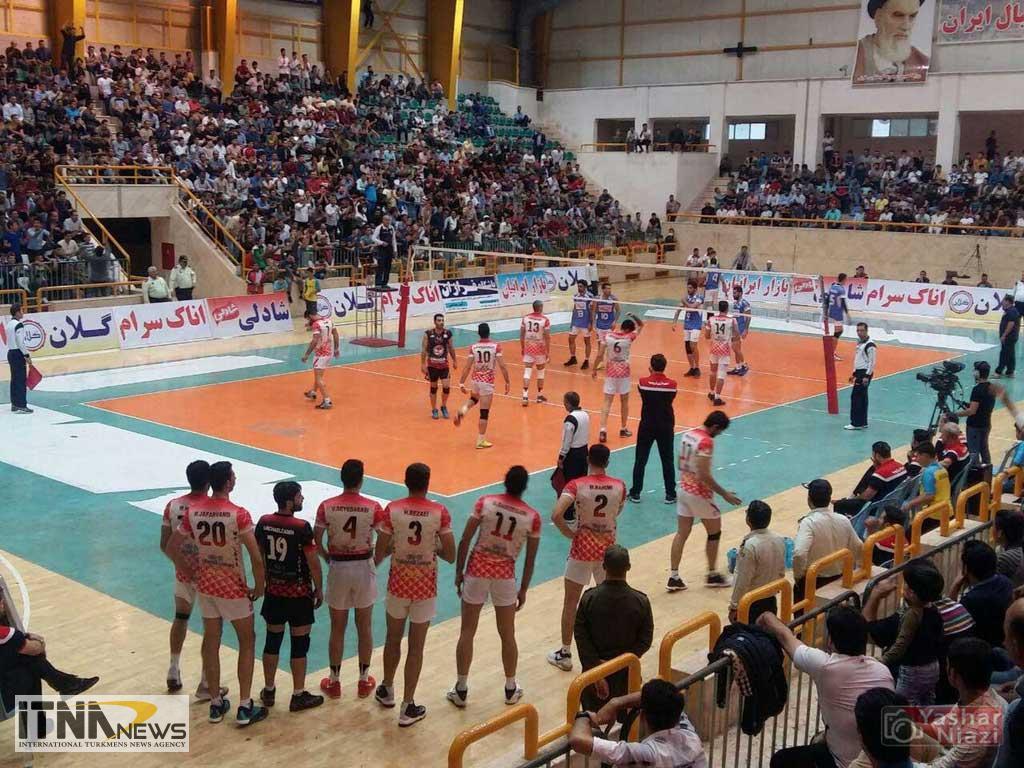 "mvalibal2 - ""تیم ایرانیان"" گنبد کاووس مسابقات لیگ برتر والیبال را با برد 3 بر 1 آغاز کرد+تصاویر"