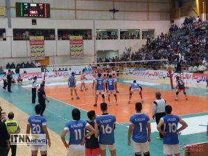 "mvalibal4 300x225 - ""تیم ایرانیان"" گنبد کاووس مسابقات لیگ برتر والیبال را با برد 3 بر 1 آغاز کرد+تصاویر"