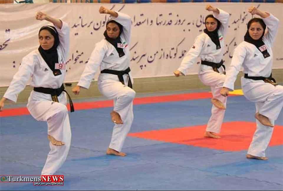 اردوی تیم ملی تکواندو در استان گلستان آغاز می شود