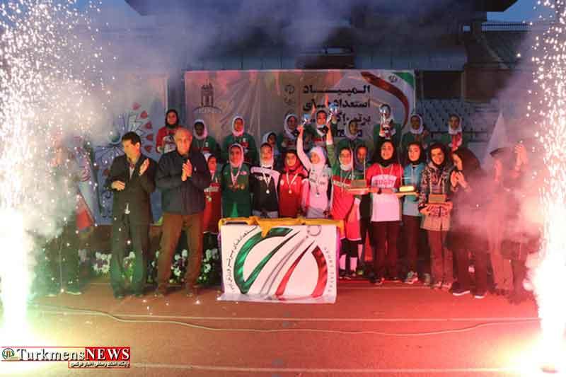 گلستان ، قهرمان رقابتهای راگبی دختران نونهال کشور