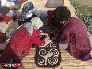 رونمایی شماری از میراث ناملموس ترکمن ها در مراسم نکوداشت مختومقلی فراغی