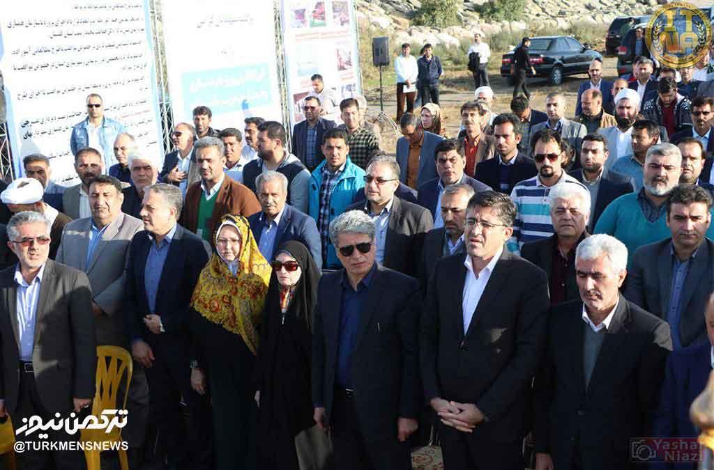 رامین نورقلی پور در حاشیه مراسم کلنگ زنی پروژه گردشگری آشوراده