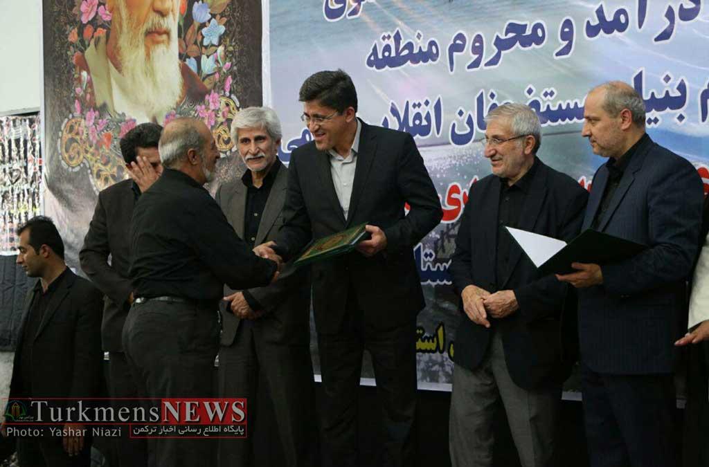 noorgholipoor turkmen mostazafan 2 - بنیاد مستضعفان برای مردم محروم بندر ترکمن و بندر گز افتخاری بزرگ است