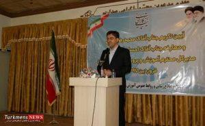 noorgholipoorturkmensnews f 300x184 - مدیر کل جدید از نظرات مشورتی وطنی برای پیشبرد اهداف استان بهره بگیرد