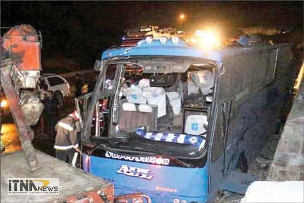 otubus 17a - مقصران حادثه اتوبوس مرگ در ایستگاه سوادکوه