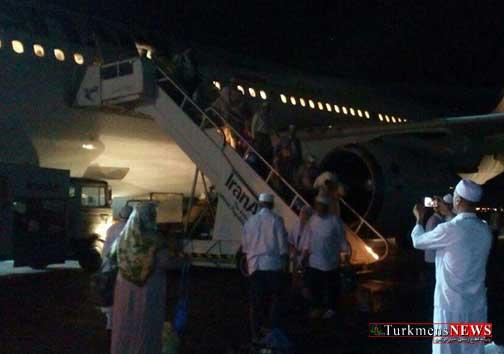 parvaz 4m - آخرین پرواز حجاج گلستانی به زمین نشست