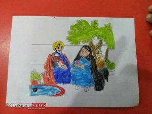 photo ۲۰۱۸ ۰۳ ۰۸ ۲۱ ۳۳ ۱۲ 300x225 - مسابقه رنگ آمیزی با موضوع مادران آسمانی در گنبد کاووس برگزار شد+تصاویر