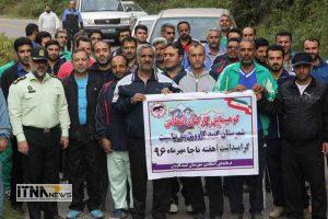 piaderavi1 21m 300x200 - پیاده روی و کوهپیمایی کارکنان پایور انتظامی و هنگ مرزی اترک شهرستان گنبدکاووس+تصاویر