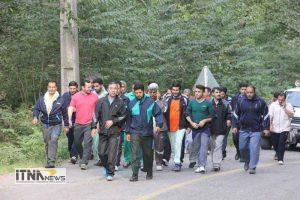 piaderavi2 21m 300x200 - پیاده روی و کوهپیمایی کارکنان پایور انتظامی و هنگ مرزی اترک شهرستان گنبدکاووس+تصاویر
