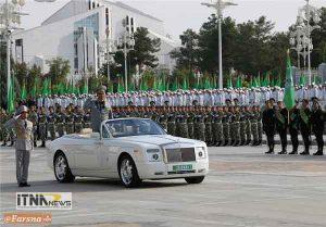 reje1 6a 300x209 - رژه نیروهای مسلح ترکمنستان برگزار شد+تصاویر
