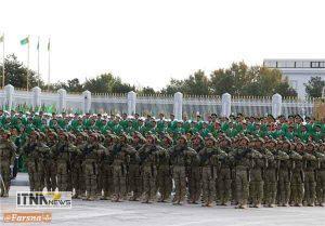 reje2 6a 300x209 - رژه نیروهای مسلح ترکمنستان برگزار شد+تصاویر