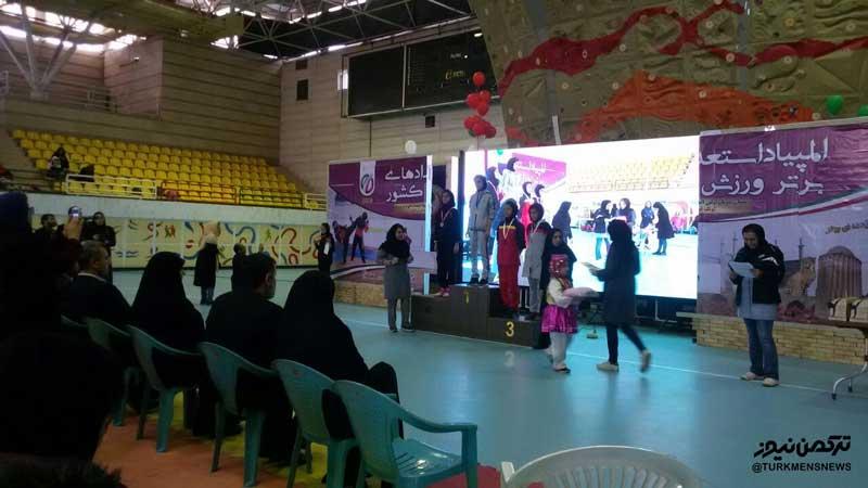 بانوی رزمی کار گلستان در المپیاد استعدادهای برتر کونگ فو و هنرهای رزمی دختران کشور دوم شد