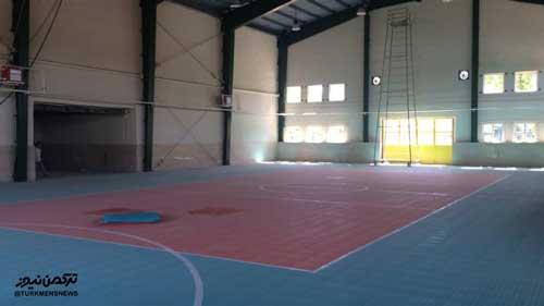 salon varzeshi turkmen - بهسازی سالن ورزشی بندرترکمن با 2.5 میلیارد ریال اعتبار