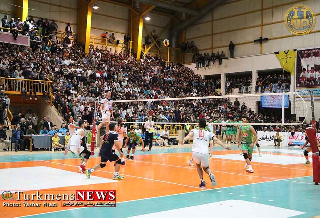 رقابت ترکمنها و آذریها در لیگ برتر والیبال