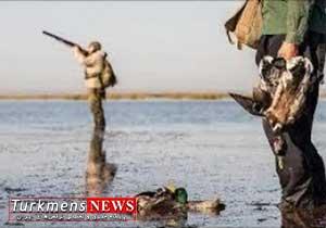 شکارچیان غیر مجاز در تالاب بین المللی آلاگل دستگیر شدند