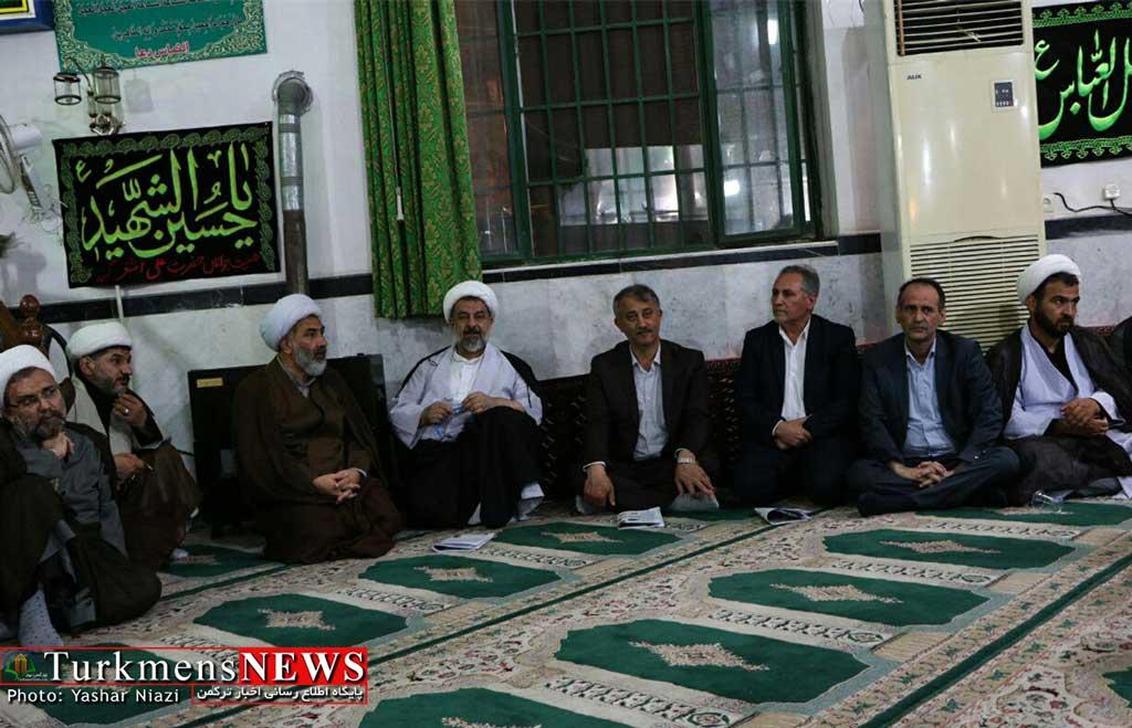 shohada ahvaz gonbad turkmensnews 5 - مراسم گرامیداشت شهدای حادثه تروریستی اهواز در گنبدکاووس برگزار شد