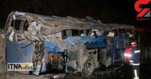 soghoototubus 15a 300x157 - جزئیات حادثه سقوط وحشتناک اتوبوس به دره در سوادکوه  + عکس