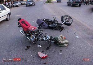 tasadofmotorsiklet gadamabad 300x210 - تصادف شدید 2 موتورسوار در گدم آباد گنبدکاووس+عکس