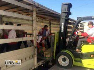 trili 22a 300x225 - دو تریلی حامل کمک های گلستان به مناطق زلزله زده غرب کشور ارسال شد