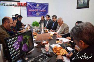 فرماندار شهرستان ترکمن در پنجمین جلسه انجمن کتاخانه های عمومی شهرستان ترکمن