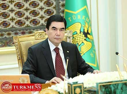 turkmenistan 26d - رئیس جمهور ترکمن ها حادثه دلخراش نفتکش ایرانی را تسلیت گفت