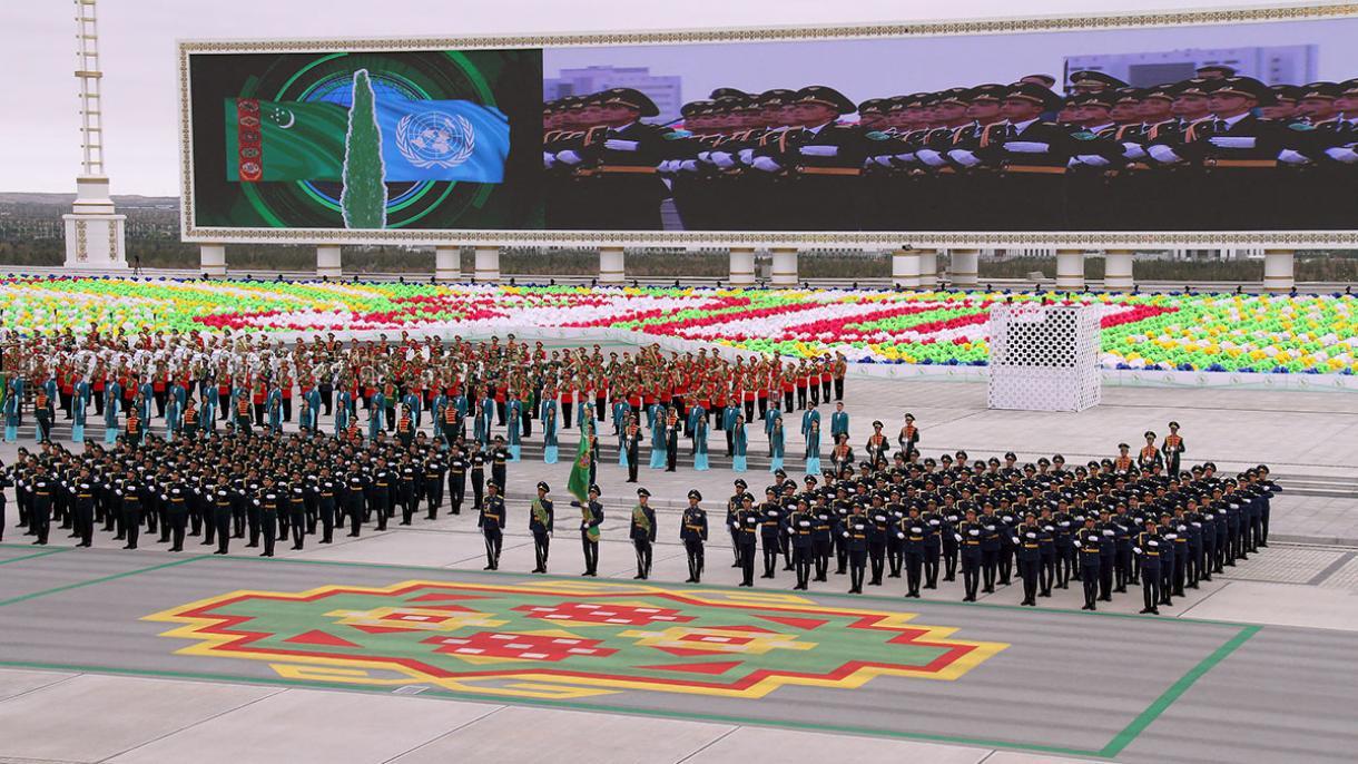 turkmenstan 2 - Türkmenistanda Garaşsyzlygyň 30 ýyllygy dabaraly ýagdaýda bellenilip geçilýä
