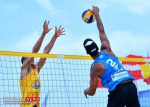 valibal bandar 300x214 - صعود تیم سعید گنبد به نیمه نهایی مسابقات والیبال ساحلی قهرمانی کشور