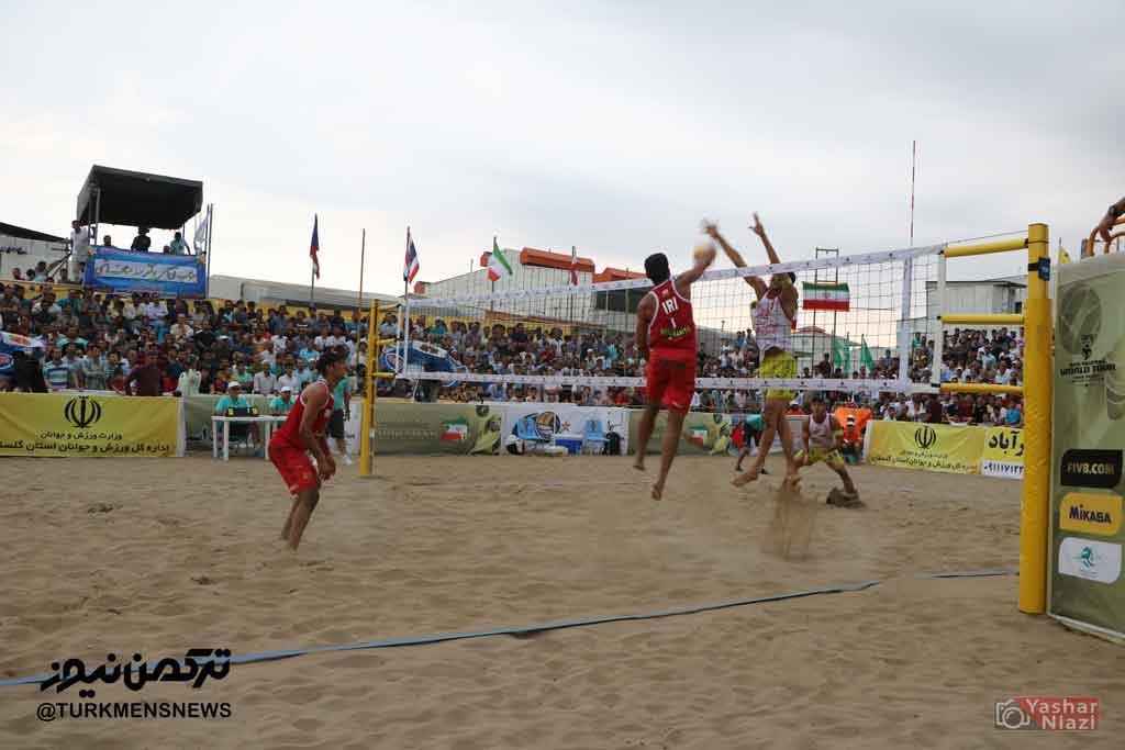 اعزام والیبالیست های گلستان به تور آسیایی قطر