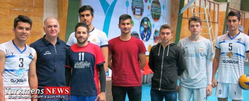 valibalbangladesh 17f - حضور سه والیبالیست گنبدی در اردوی تیم ملی بنگلادش در خانه والیبال تهران
