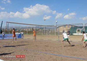 بندر ترکمن,مسابقات منطقه ای والیبال ساحلی