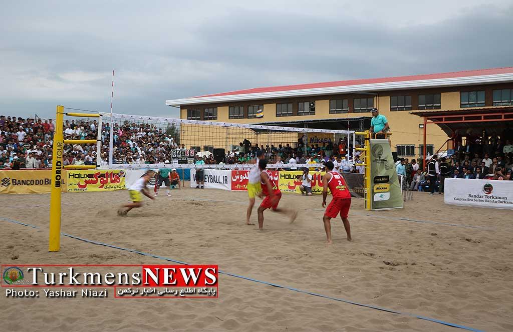 valibalsaheli turkmen - قبولی ورزش و والیبال گلستان در یک آزمون بین المللی