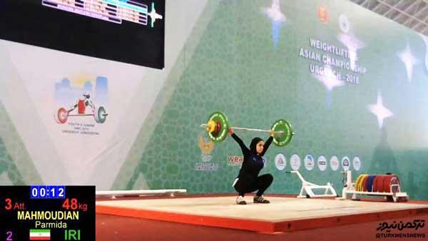 vaznebardar golestani - دختران وزنه بردار گلستان به اردوی تیم ملی دعوت شدند