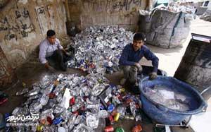 زباله های خشک گرگان در اختیار گروه های مافیا است